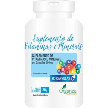 Suplemento de Vitaminas e Minerais Organza Alimentos 010