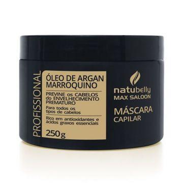 Máscara Óleo de Argan Marroquino Natubelly 0131