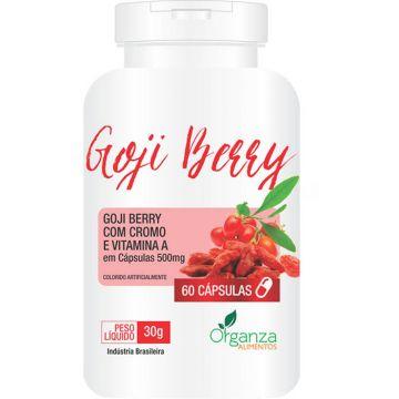 Goji Berry com Cromo e Vitamina A Organza Alimentos 025