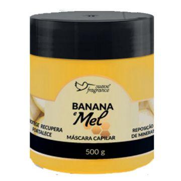 Máscara Capilar Banana e Mel Suave Fragrance 0333
