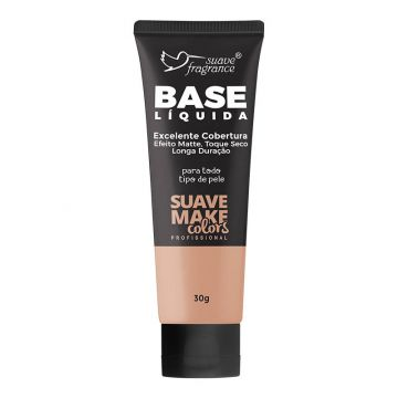 Base Líquida Média Suave Fragrance Suave Make Colors Ref. 0571