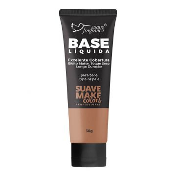 Base Líquida Escura Suave Fragrance Suave Make Colors Ref. 0572