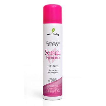 Desodorante Sensual Feminino Bouquet de Jasmim Natubelly 0569