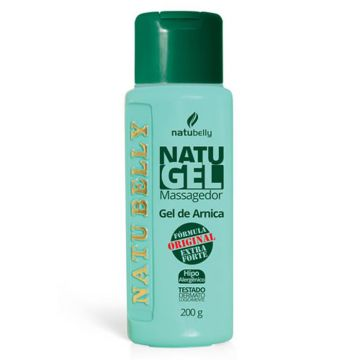Gel de Arnica Massageador Natugel Natubelly 0603