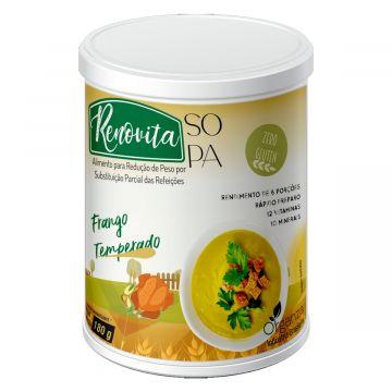 Sopas Renovita Frango Temperado Organza Alimentos 074