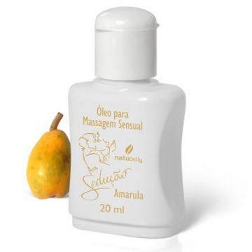 Óleo para Massagem Sensual Amarula Sedução Natubelly 0816