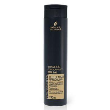 Shampoo Condicionante Óleo de Argan Marroquino Natubelly 1198