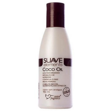 Creme sem Enxágue Suave Fragrance Suave Elements Coco Oil 1355