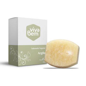 Sabonete Vegetal Argila Viva Bem Natu Life 133