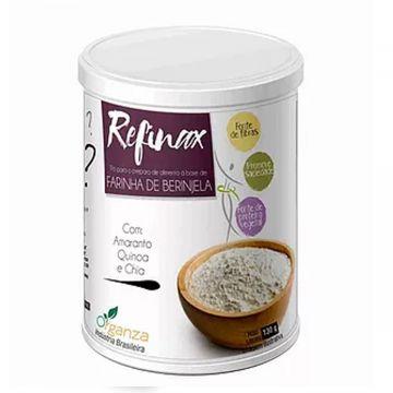 Mistura de farelos à base de farinha de berinjela Renovita Organza Alimentos 162 1