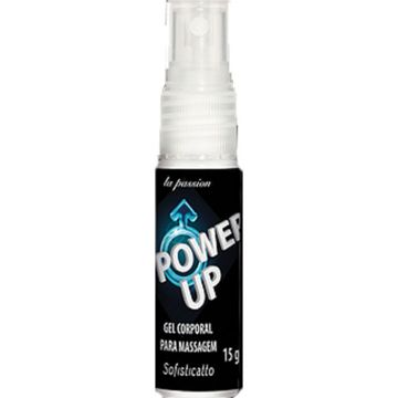 Gel Spray Corporal para Massagem Power Up La Passon Sofisticatto 1643