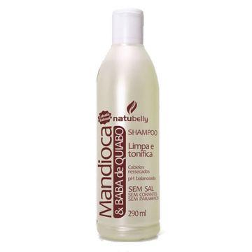 Shampoo Mandioca & Quiabo Natubelly 1647