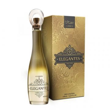 Perfume Deo Colônia Elegantes Mulher Suave Fragrance 2028