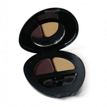Duo de sombras - Marrom / Dourado Natubelly 2305
