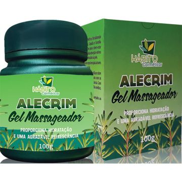 Gel Massageador Alecrim Habito 2409
