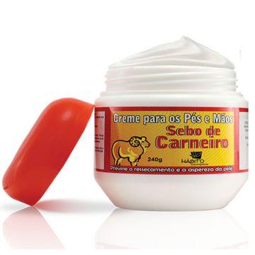 Creme Hidratante Sebo de Carneiro Hábito  2722