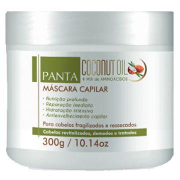 Máscara Capilar Coconut Oil Panta Cosmética 2854