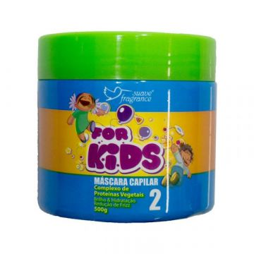 Máscara Capilar For Kids Suave Fragrance 3017 1