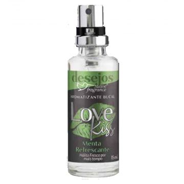 Aromatizante Bucal Love Kiss Menta Suave Fragrance 3502