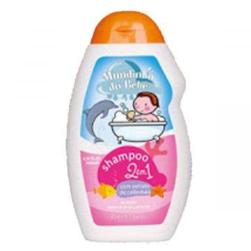 Shampoo 2 em 1 Infantil Natu Charm Mundinho do Bebê Ref. 4001