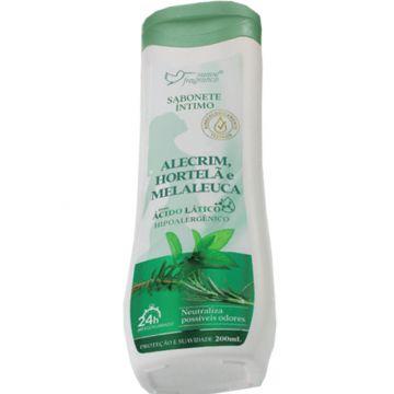 Sabonete Íntimo Alecrim, Hortelã e Melaleuca Suave Fragrance 5012