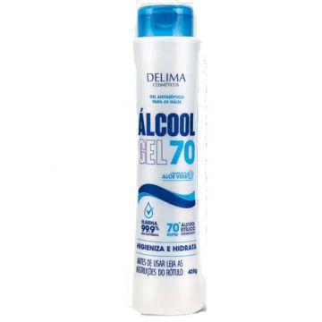 Álcool em Gel 70% 170 g - Antisséptico para as mãos! Ref. 5041