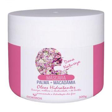 Máscara Capilar Palma + Macadâmia - Óleos Hidratantes Dokmos 5403