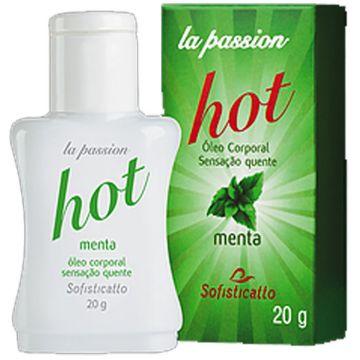 Óleo Corporal Menta Hot Sofisticatto 582