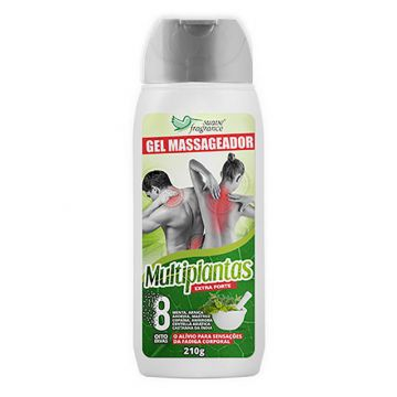 Gel Massageador Suave Fragrance Multiplantas Ref. 6016