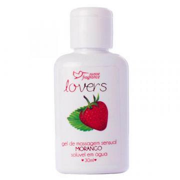 Gel de Massagem Lovers Morango Suave Fragrance 6030 1