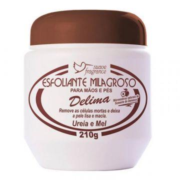 Esfoliante Milagroso para Mãos e Pés Delima Suave Fragrance 6008 1