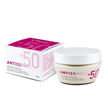 Creme Facial Antissinais +50 Suave Fragrance 6067