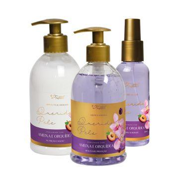Kit Promocional Querida Pele Amexa e Orquídeas Suave Fragrance 6092