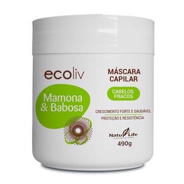 Máscara Capilar Mamona & Babosa Ecoliv Natu Life 612