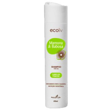 Shampoo Mamona & Babosa Ecoliv Natu Life 615