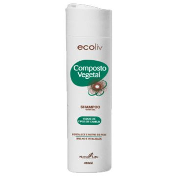 Shampoo Composto Vegetal Ecoliv  Natu Life 639