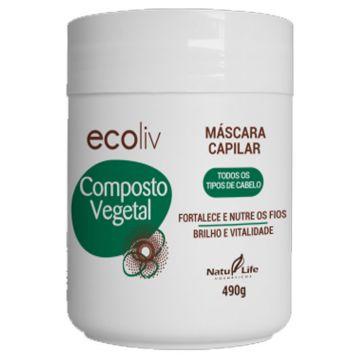 Máscara Capilar Composto Vegetal Ecoliv Natu Life 640