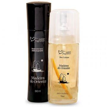 Kit Promocional Madeira do Oriente Suave Fragrance 8037 1