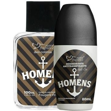 Kit Promocional Homens Suave Fragrance 8044 1