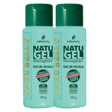 Kit Gel de Arnica Massageador Natugel Natubelly 8162
