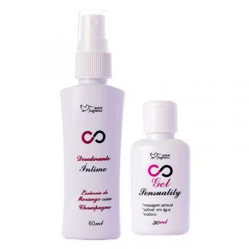 Kit Promocional Sensuality Suave Fragrance 8185 1
