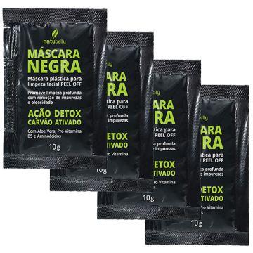 Kit Máscara Negra Detox Pell Off Natubelly 8248