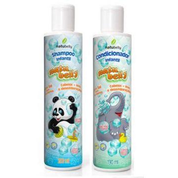 Kit Capilar Infantil Shampoo + Condicionador Natubelly 8220