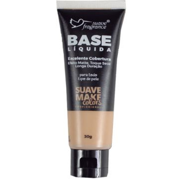 Base Líquida Médio Claro Suave Make Colors Suave Fragrance 0573