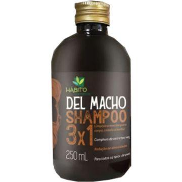 Shampoo DEL MACHO 3x1 Hábito 0933