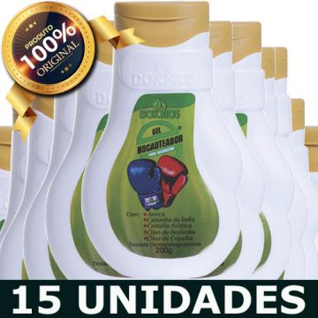 15 GEL NOCAUTEADOR ARNICA DOKMOS COSMÉTICOS CÓD 1112