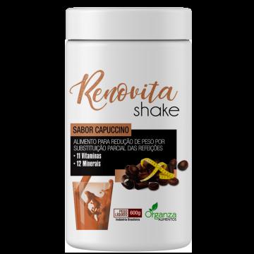 Shake Gourmand Renovita Chocolate Cappuccino Organza Alimentos 023