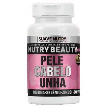 Nutry Beauty Complexo Vitaminico Cabelos, Unhas e Pele Suave Nutry SN0005