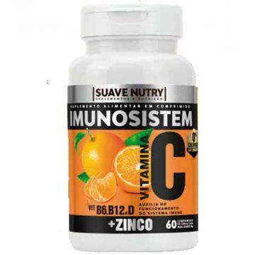 Imunosistem Vit. C Suplemento Alimentar Suave Nutry SN0003