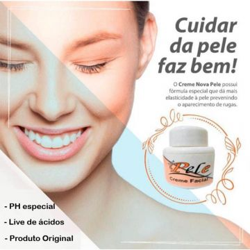 Kit 6 Creme Clareador Nova Pele - Manchas De Melasma Belladona 258516